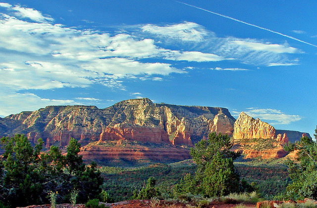Sedona, arizona - view of greenery and mountains