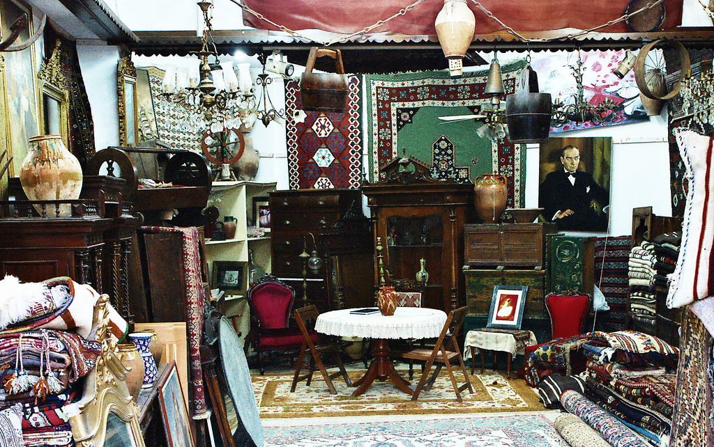 Small items - room filled with decorative furniture and trinkets