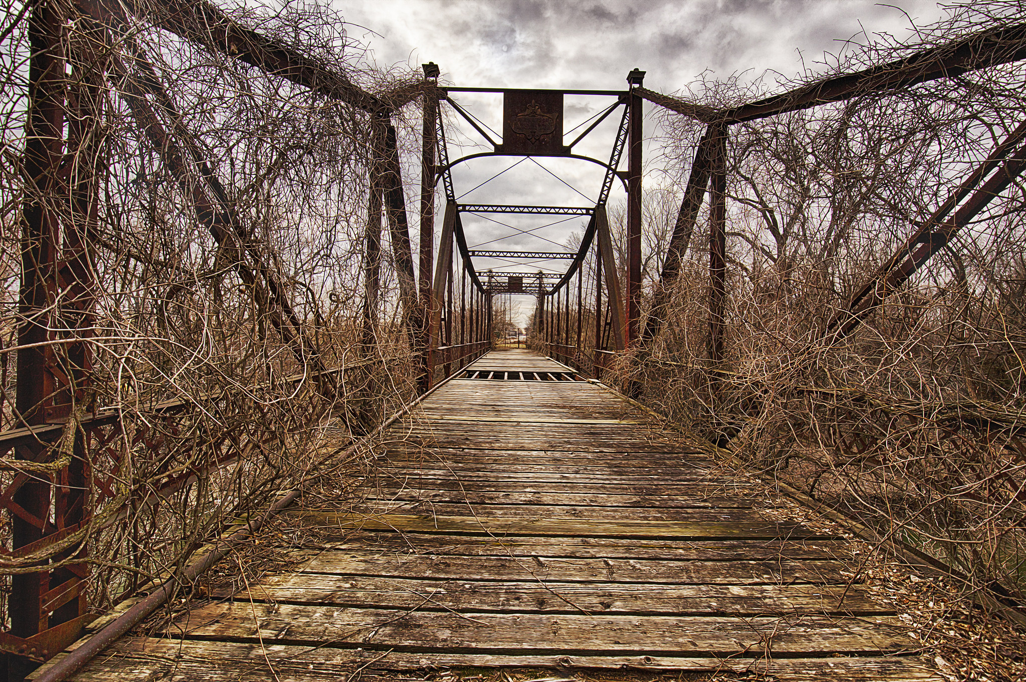 Power of Attorney in Gilbert - wooden bridge with overgrown vines