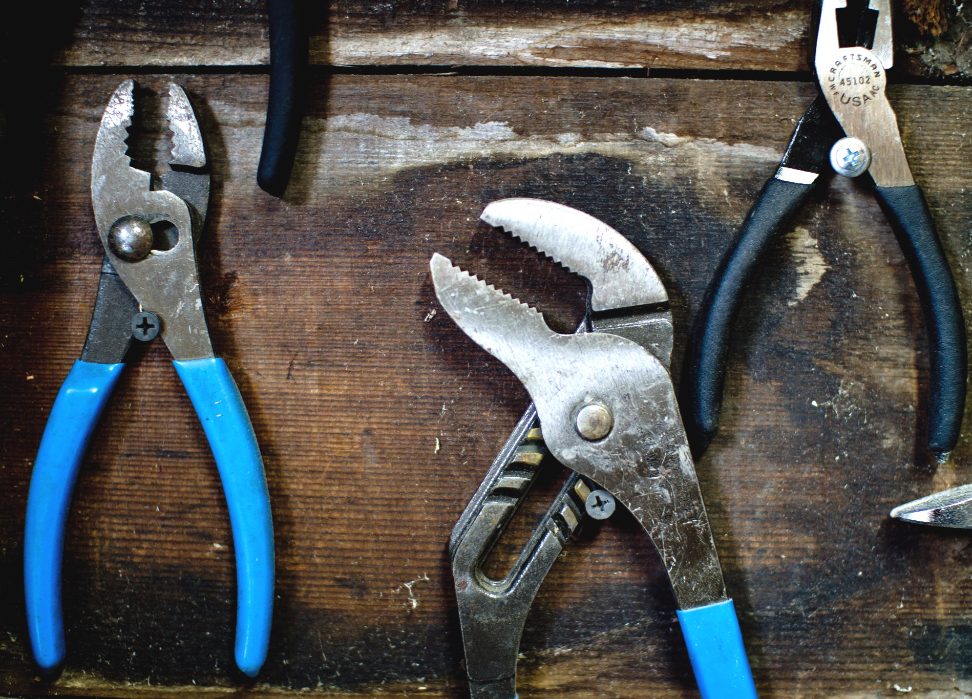 Three Tools blog - three pliers