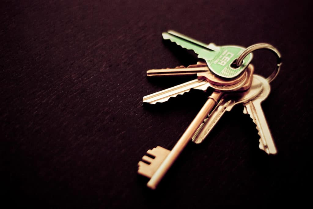 estate planning lawyers - bunch of several keys