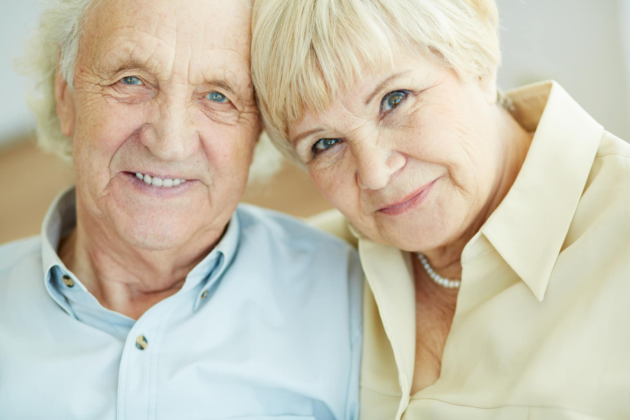 Long-Term Care Support - two people smiling