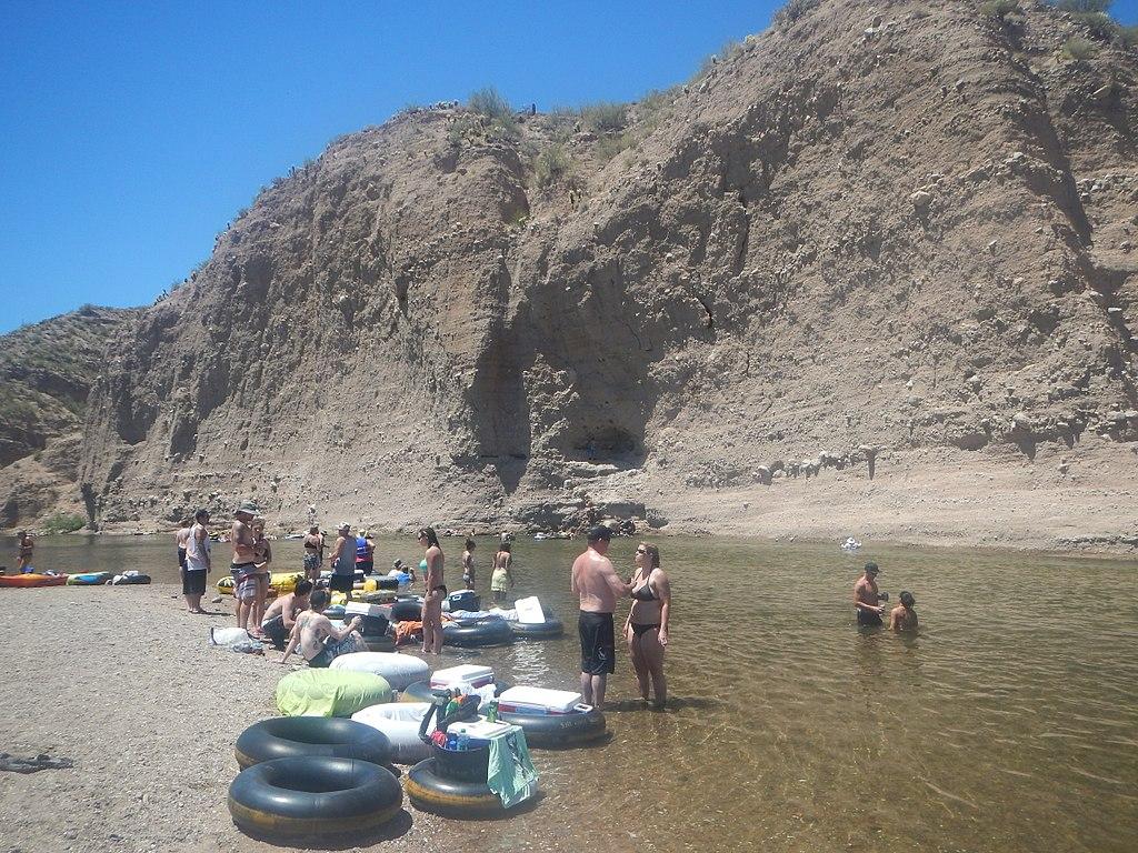 tubing the salt river in arizona